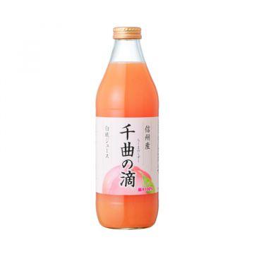 SHINSHU PEACH JUICE CHIKUMA NO SHIZUKU 1L